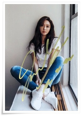 Jung Soo Yeon Jessica Jung autographed signed photo  Wonderland new korean 12.2016 02 jung jung ls 990 vert fonce 32050 клавиша 1 я lc99032050