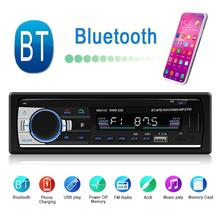 Car Kit LCD Bluetooth Car Stereo MP3 AUX Audio Player FM Rad