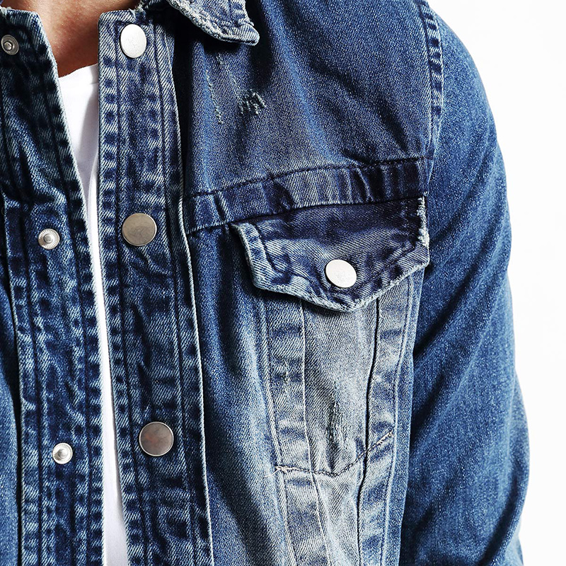 02d60ce4b3ec Aliexpress.com : Buy SIMWOOD 2019 New Spring Winter Fashion Denim Jacket Men  Long Sleeve Casual Coats Slim Fit NJ6505 from Reliable denim jacket men ...