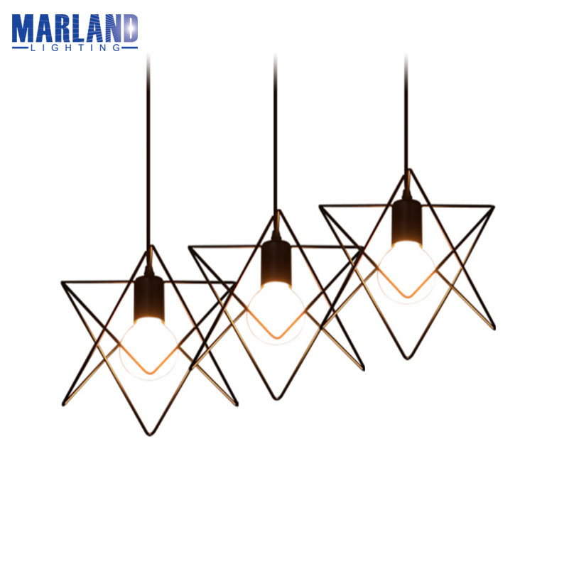 American Country Style E27 Pendant Lights Retro Loft Iron Cages Pendant Lamp LED Indoor Droplight Vintage Hanging Lamp(D5098) american art creative retro vintage pendant lights spring iron hanging pendant lamp indoor iron black pendant lamp light