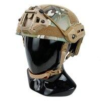 TMC Tactical MTK Helmet Undercut Flux Style For Airsoft Paintball Multicam Ranger Green RG BK M/L(SKU051133)