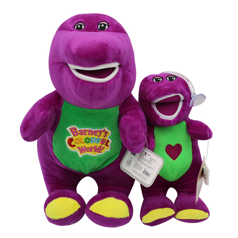 Hot Sale Singing Friends Dinosaur Barney PP Cotton Plush doll Singing Stuffed Soft stuffed Animals plush Toys Gift for Children