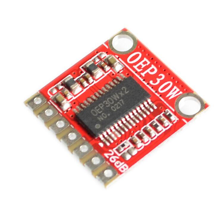oep30w mono digital amplifier board module diy amplifier kit 30w d class in integrated circuits. Black Bedroom Furniture Sets. Home Design Ideas