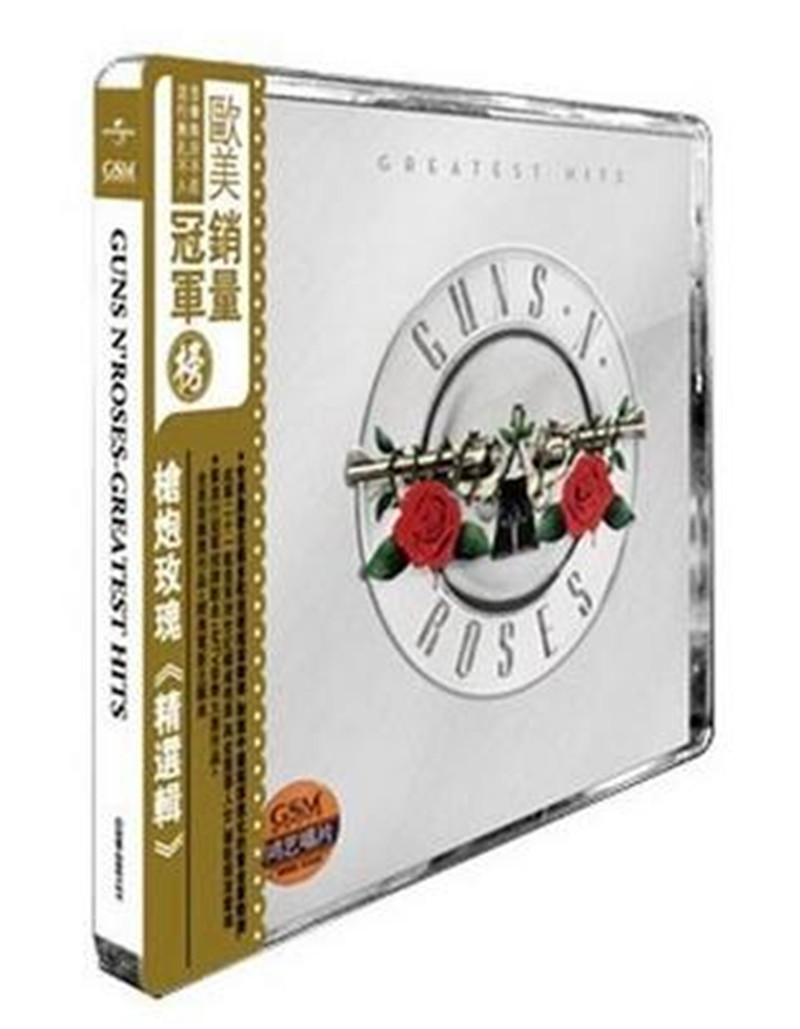Free Shipping: Guns N 'Roses Greatest Hits Featured CD Seal