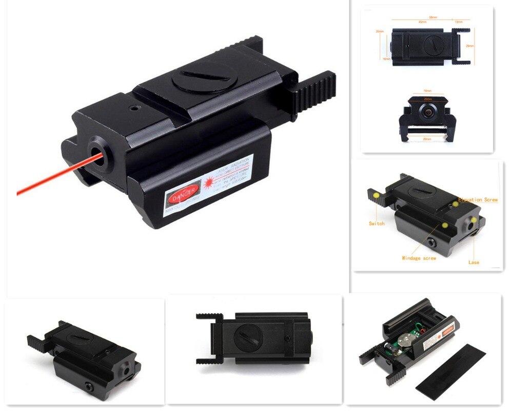 ᐃBuena calidad Táctica Punto Rojo Laser sight Scope con el Monte + ...