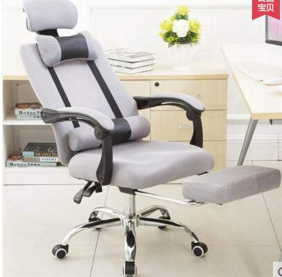 Купить с кэшбэком Free shipping home office computer chair staff chair. Lifting rotation can lie tables and chairs