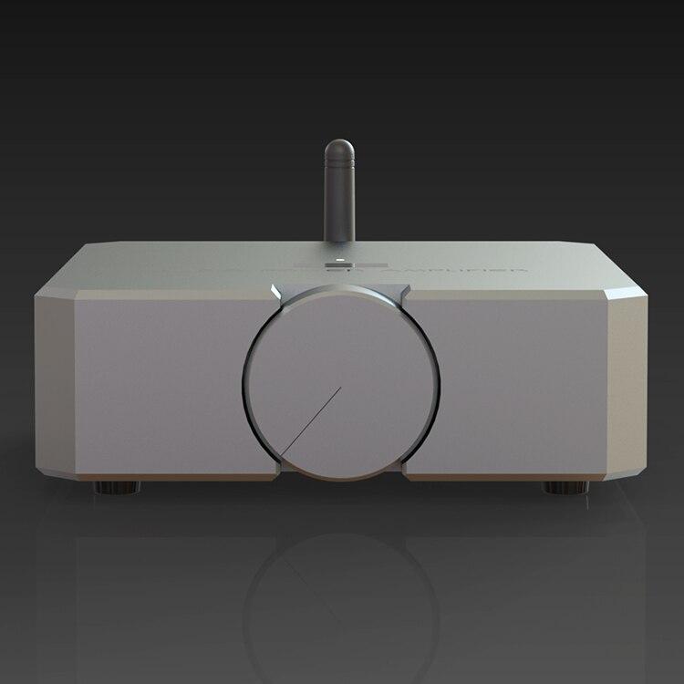 完成ミニハイファイの Bluetooth 5.0 オーディオパワーアンプ 2*80 ワットデュアルチャンネルステレオアンプ新 2019  グループ上の 家電製品 からの アンプ の中 3