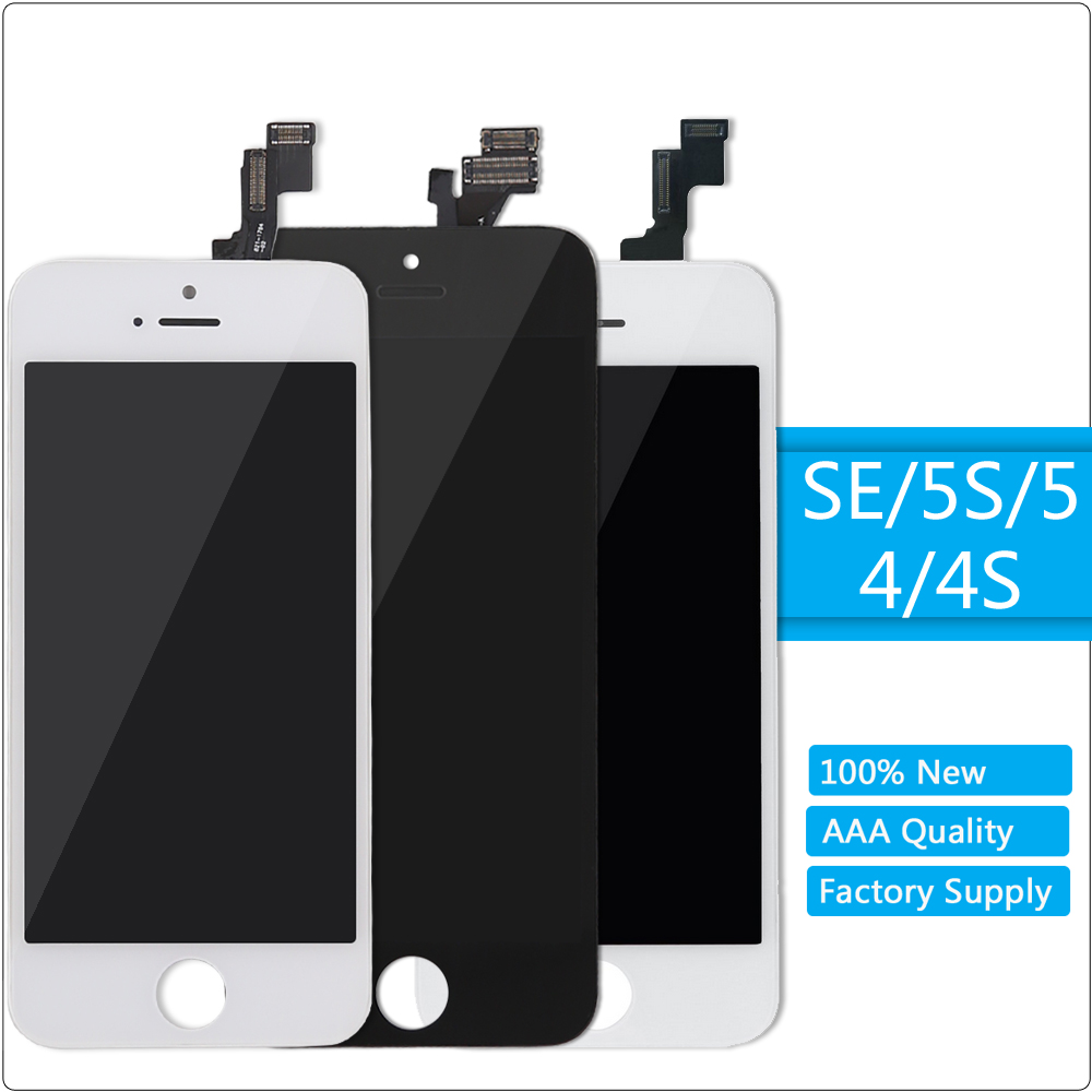 for <font><b>iPhone</b></font> SE LCD <font><b>Display</b></font> <font><b>Original</b></font> Quality Touch Screen LCD <font><b>Display</b></font> Digitizer Assembly for <font><b>iPhone</b></font> SE 5S <font><b>5</b></font> 4S 4 LCD Replacement image