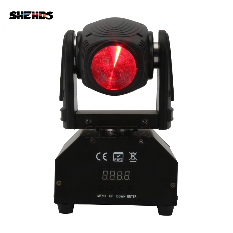 Best Quality Mini LED Spot Beam Moving Head 10W/4IN1 Lighting  Light Beam DJ Light Mini Led Free Shipping Disco Party Light