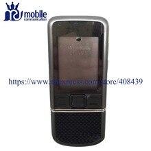 HQ 8800 Arte de Carbone Batterie Couverture Logement Complet Pour Nokia 8800 Arte de Carbone Moyen cadre Plaque de Couverture Arrière avec clavier bouton