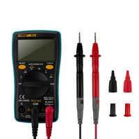 ANENG AN8002 multimètre numérique 6000 compte rétro-éclairage ampèremètre ca/cc voltmètre Ohm pince crocodile cavalier fil Test plomb