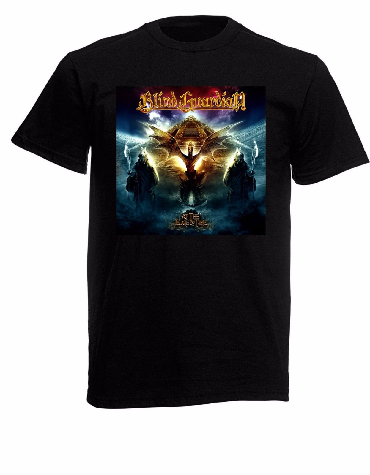 Blind Guardian 02 Mens Black Rock T-shirt NEW Sizes S-XXXL