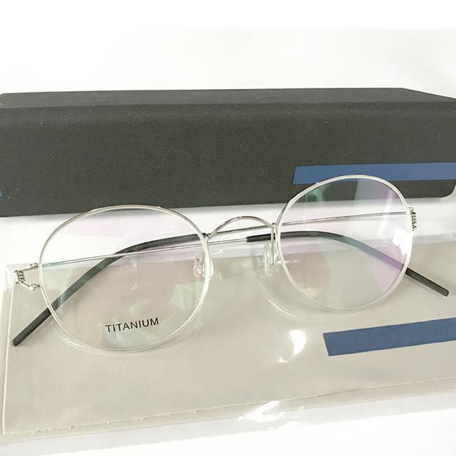 placeholder Homens Rodada Dinamarca Handmade Coreano Óculos Armações de  Óculos De Prescrição de Óculos Quadros Sem Parafusos a3a5e5e356