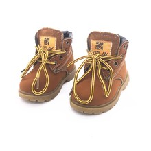 Lowest price quick and free shipping Fashion Child Leather Snow Boots For Girls Boys Martin winter Casual Shoes
