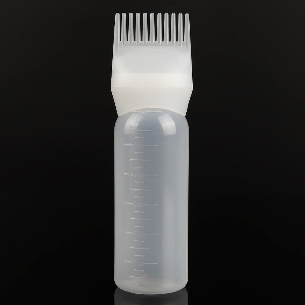 Hairdressing With Scale Hot Dyed Hair Bottle Comb Tooth Sprayable Hairdressing Perm Drop Medicine Kettle Hairdressing Tool