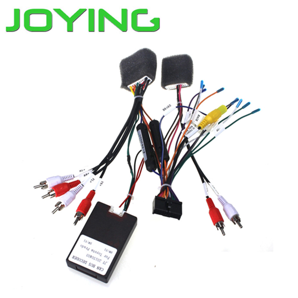 aliexpress buy joying jbl amp amplifier car radio stereo harness wire adapter for toyota