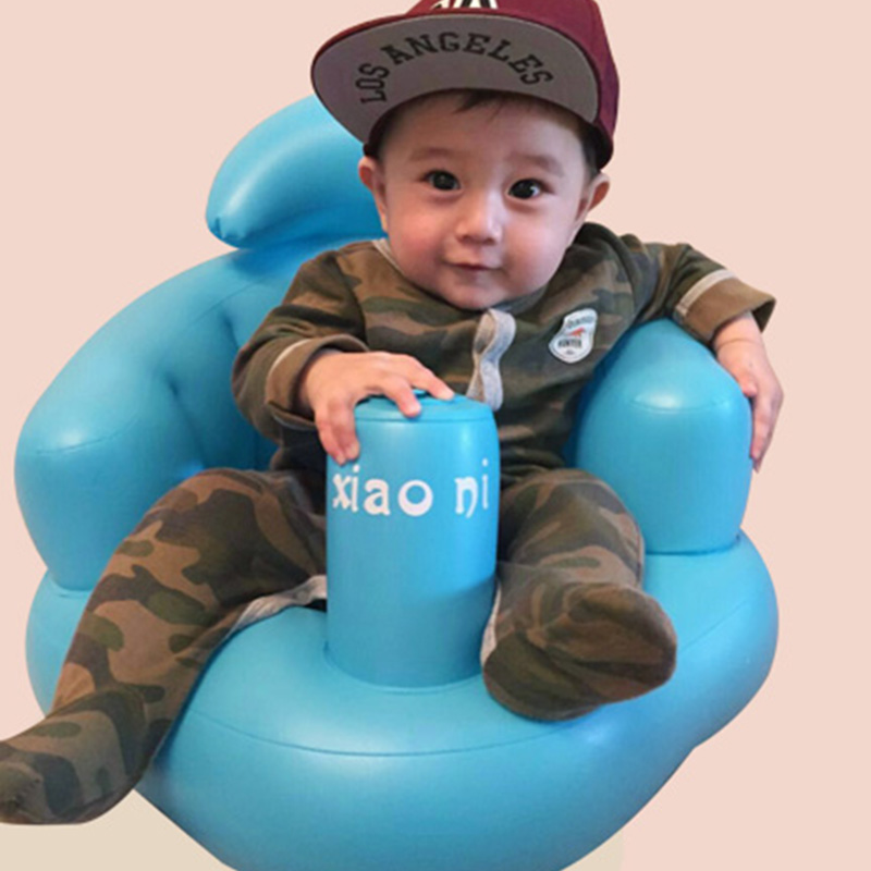 Russia Shipping Baby Kid Children Inflatable Bathroom Sofa Chair Seat Learn Portable Multifunctional BM88