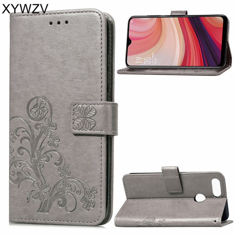 detailed look 9b52a b9307 US $3.18 24% OFF|Phone Bag OPPO A7 Case Luxury PU Cover Flip Wallet Phone  Case For OPPO A7 Back Cover For OPPO A7 Kickstand Card Holder Fundas-in  Flip ...
