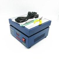 110/220 v 600 w 946c eletrônico quente preheat estação de pré-aquecimento 200x200mm para bga pwb smd aquecimento lâmpada led desoldering
