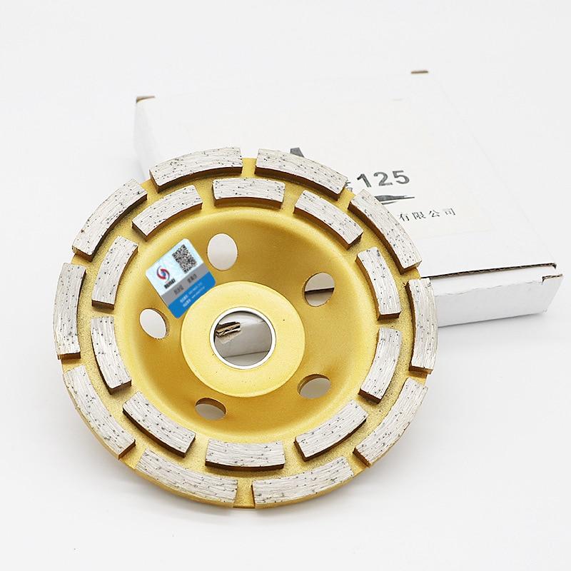 RIJILEI Disco diamantato a doppia corona da 5 pollici con disco - Utensili elettrici - Fotografia 4