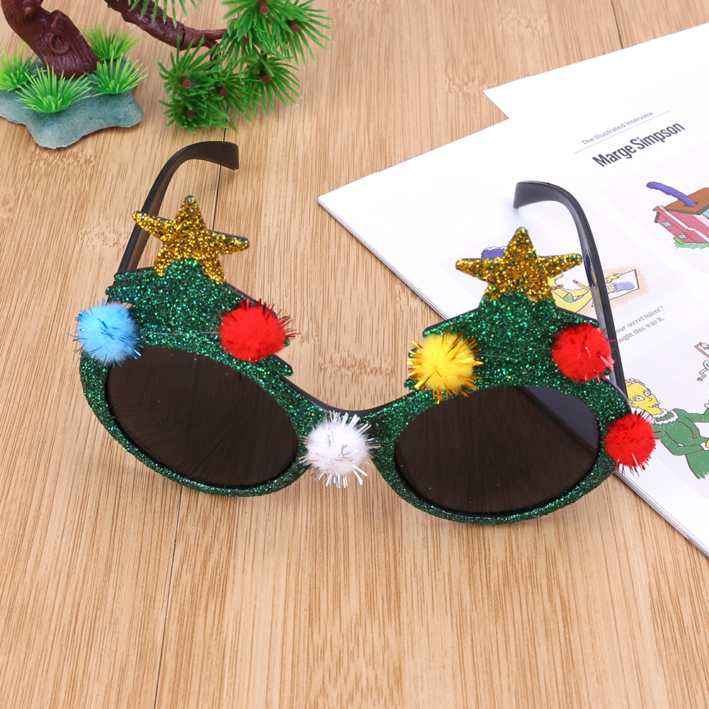 894f08796c2 Novelty Sunglasses Christmas Tree Hawaiian Beach Pineapple Sunglasses  Christmas Halloween Costume Party Glasses Decorations -in Party Masks from  Home ...
