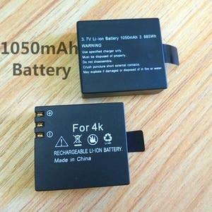 Image 4 - 1050 mAh battery charger for SJCAM Original sj4000 wifi Sj5000 M10 SJ7000 SJ9000 soocoo c30 EKEN H3 H9 Action Camera Accessories