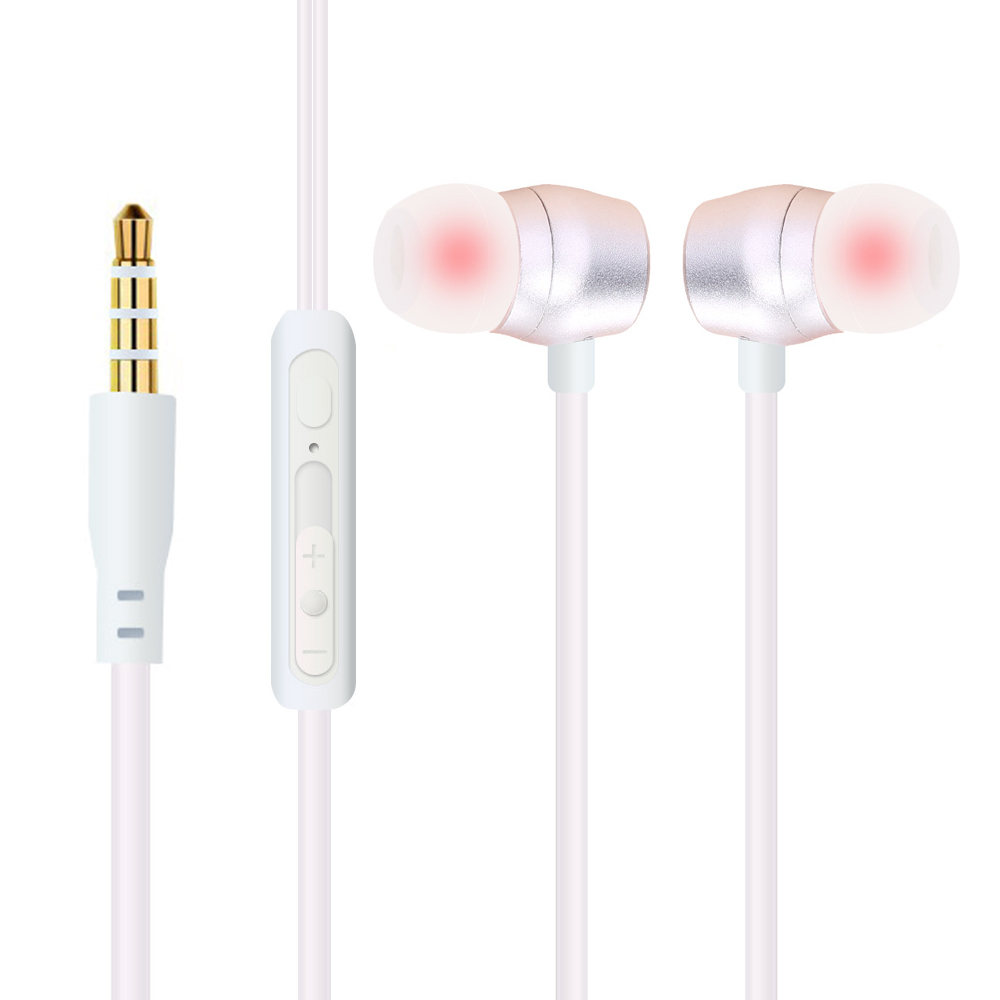 qijiagu 3.5mm Univerzalni žičani uši za slušalice Stereo - Prijenosni audio i video - Foto 6