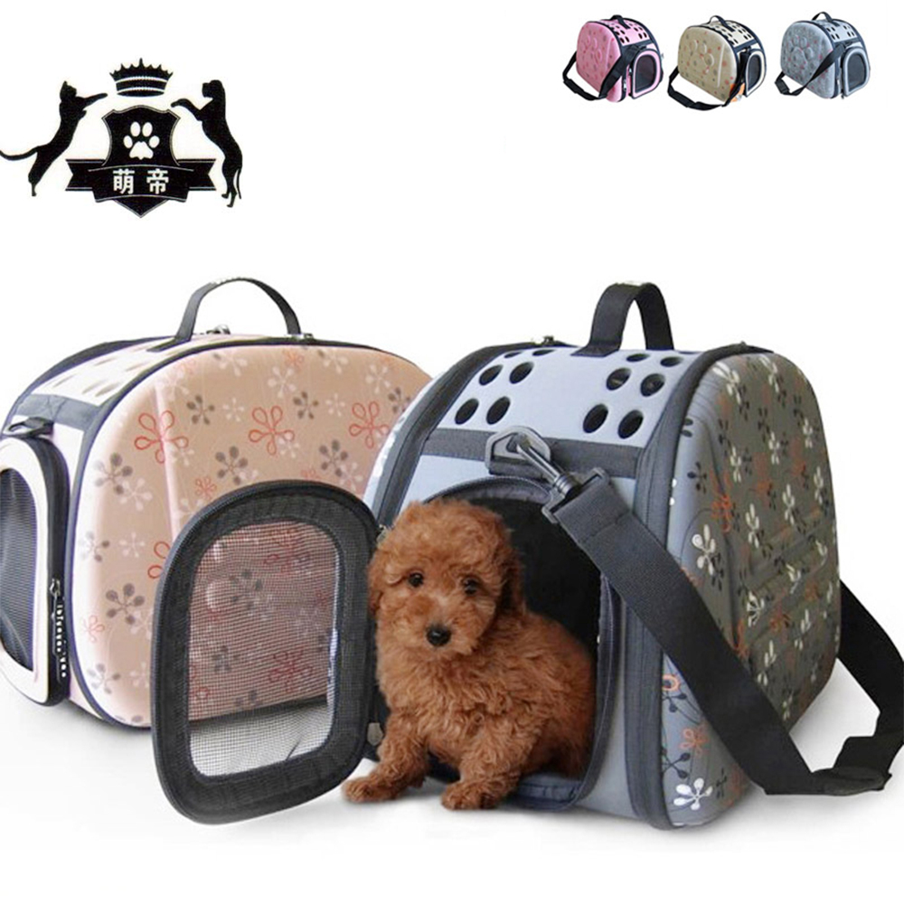 Dog Cat Carries Waist Bags Folding Portable Travel For Small Dogs 3 Colors Pet Sac Pour Chien Puppy Hand In Carriers From Home