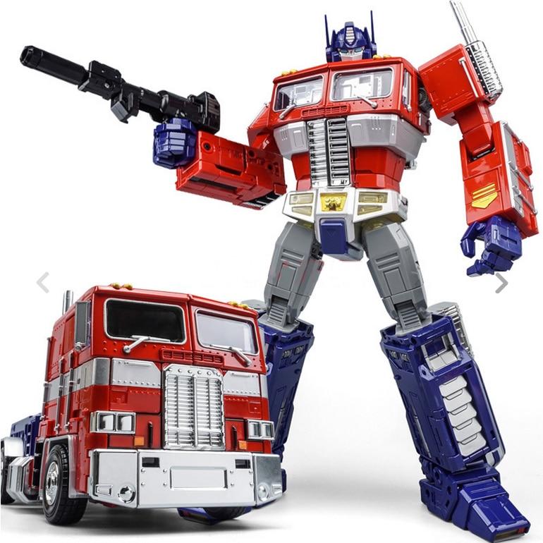 WEI JIANG robot de Transformation en alliage de métal OP MPP10 commandant chef-d 'œuvre surdimensionné figurine d'action évasion AOE