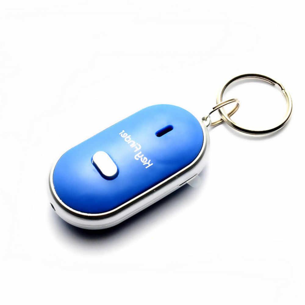 Apito sem fio chave localizador chaveiro masculino eletrônico anti-roubo elipse plástico busca chave anti-perdido dispositivo carro chaveiros Q-045