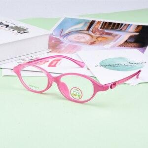 Image 3 - SECG Ultralight เด็กผู้หญิงกรอบแว่นตาสายตาสั้นแว่นตาเด็กกรอบแว่นตานักเรียนแว่นตา