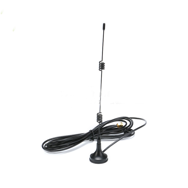 2 4g 7db suction cup antenna wireless data transmission 2 4ghz router wifi module sma high gain