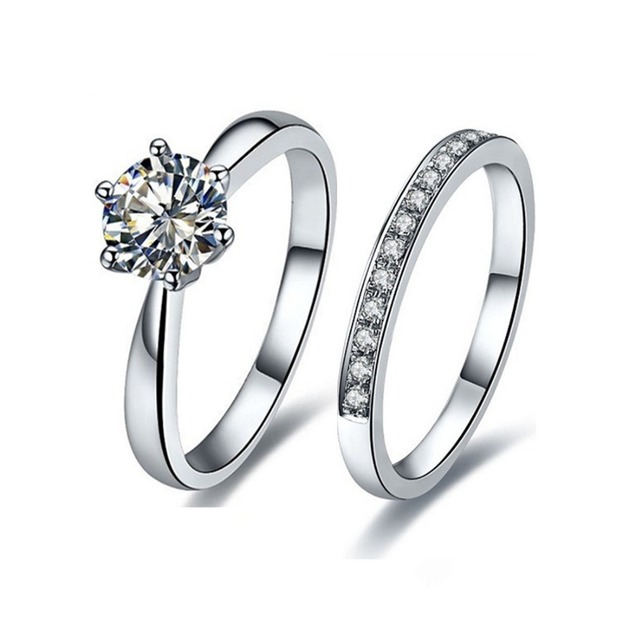 white itm ring carol solitaire marquise image synthetic gold s rings diamond engagement is loading
