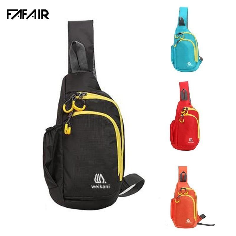 Outdoor Travel Crossbody Chest Bag For Women Men  Waterproof  Sport  Waist Pack Shoulder Bag For Cycling Running Bags 4 Colours