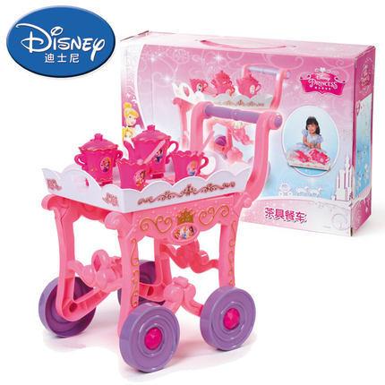Disney Princess Dining Car Girl Game Tea Set Toy Kitchen ...