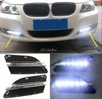 1 Set Daytime Running Light DRL LED Fog Lamp Fit For2010 2011 2012 BMW E90 LCI 3 Series 328 335 car styling led day light