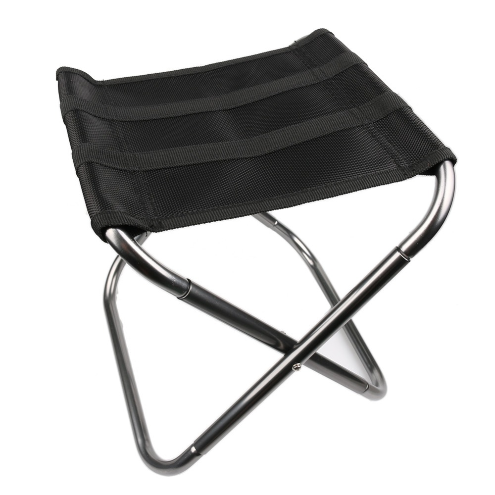 Outdoor Folding Fold Aluminum Chair Stool Seat Fishing Camping with Carry Bag 3 Colors for Choose 3 legs outdoor camping hikingtripod folding stool chair foldable picnic fishing triangle tripod seat ultralight fold chair