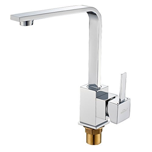 Single Lever Morden 3 Inlet Pipes Brass Chroming Kitchen ...