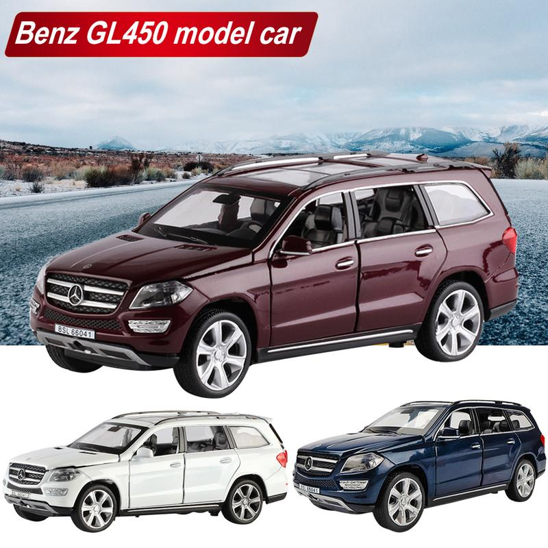 for 1:32 Mercedes-Benz GL450 Alloy Model Sound And Light Pull Back Toy Carfor 1:32 Mercedes-Benz GL450 Alloy Model Sound And Light Pull Back Toy Car