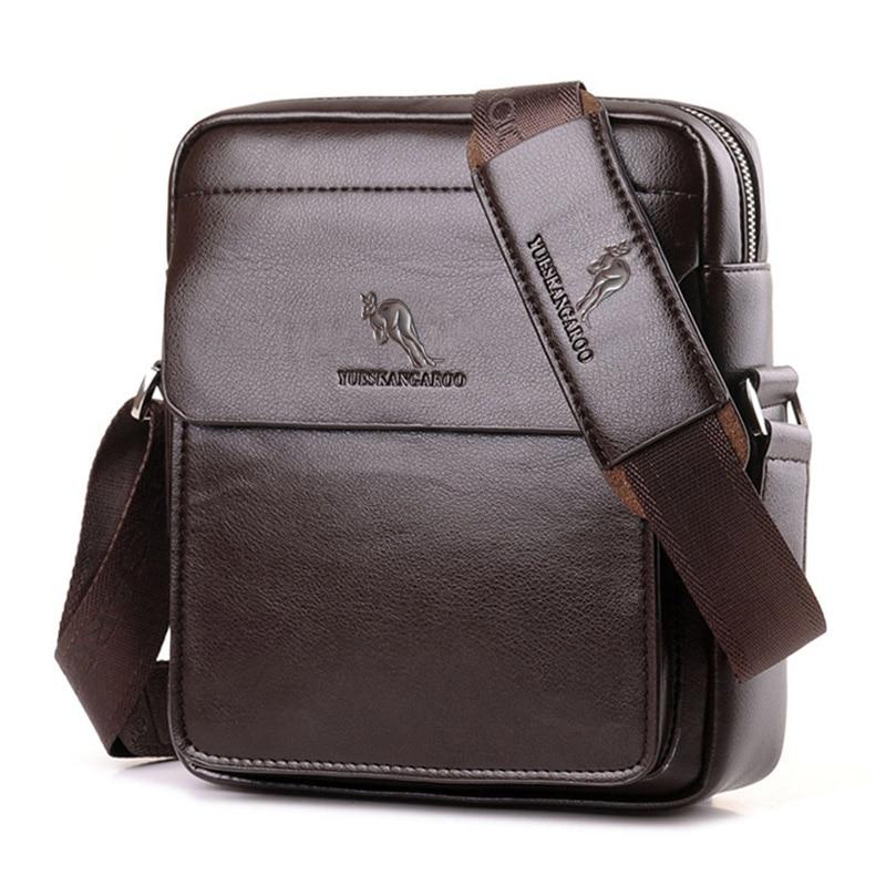 YUES KANGAROO Marka Visoka kvaliteta Casual Men Bag Vertikalna - Torbe - Foto 2