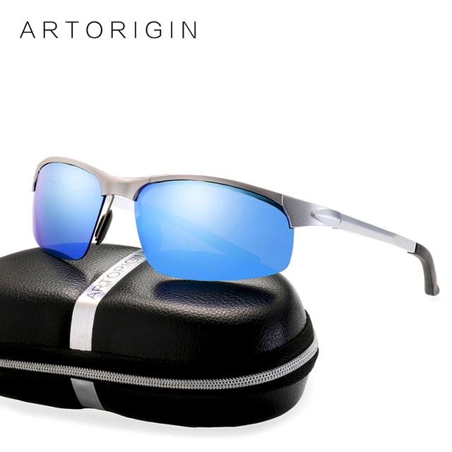 7b7abaecf3 ARTORIGIN AL-MG Sunglasses Men Polarized Day Night Vision Driving Sun  Glasses For Men Aluminium Magnesium occhiali Oculos AT9025