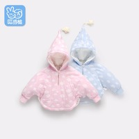 Jingle Mallet Boy Girl Cotton Autumn Winter Hooded Coat Children S Jackets Infant Baby Cute Cloak