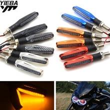 12V LED Motorcycle Turn Signal Indicators Lights/Lamp 6 Colors FOR HONDA CBR600RR F2 F3 F4 F4I CBR 600 F5 kawasaki z1000 Z800 стоимость
