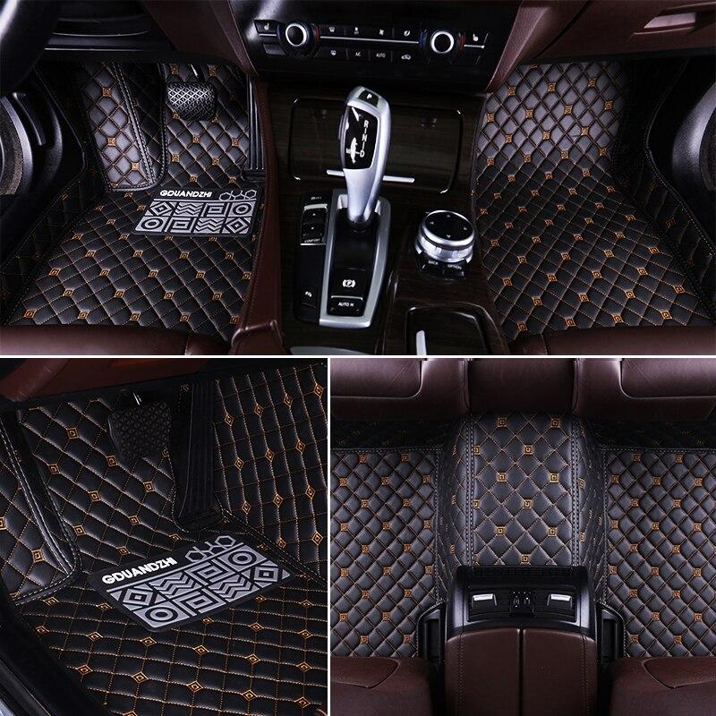 Custom Full Covered Waterproof Carpet Durable Special Car Floor Mat For Cadillac CT6 XTS XT5 SLS CTS ATS ESCALADE SRX XLR