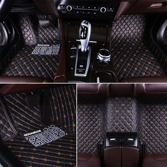 custom full covered waterproof carpet durable special car floor mat for tesla model x model s. Black Bedroom Furniture Sets. Home Design Ideas