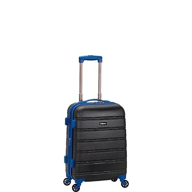 Rockland F145-GREY 20 in. Melbourne Expandable Abs Carry on Suitacse Grey migos melbourne
