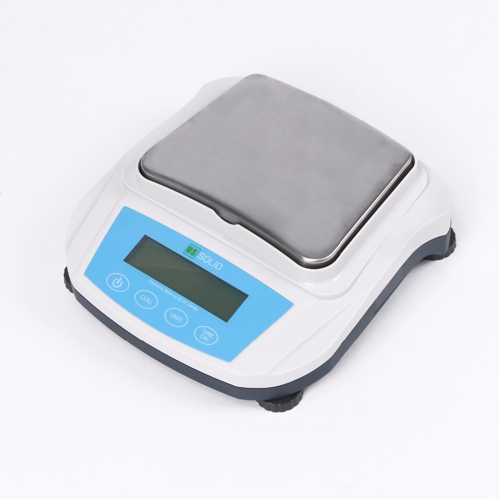 U S Solid 600 g x 0 01g Lab Digital Analytic Balance Scale Precision Weighing Scale