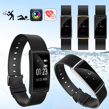 Модные SGN108 Bluetooth Smart Браслет сердечного ритма Monitores Спорт Фитнес трекер Браслет для смартфонов IOS и Android