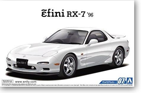 1/24 Mazda FD3S RX-7 '96 Car Model 05158 aluminum radiator for 1993 1995 mazd rx 7 fd3s manual transmission