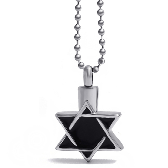 Star Of David Cremation Jewelry